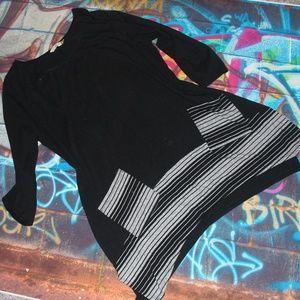 Chalet, White Stripe Tunic